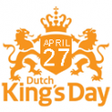 We are closed on King's Day April 27
